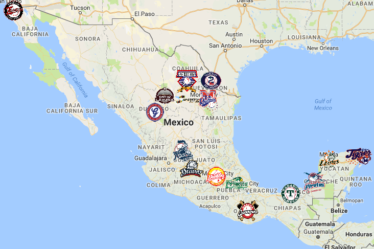 Mexican League Map | Teams | Logos - Sport League Maps on czech republic map, sri lanka map, peru map, panama map, africa map, florida map, texas map, spain map, australia map, brazil map, thailand map, greece map, native american map, cuba map, poland map, belgium map, europe map, canada map, carribean map, dominican republic map, south africa map, canadian provinces map, portugal map, california map, costa rica map, argentina map, china map, egypt map, cabo san lucas map, france map, mexican states map, germany map, kenya map, italy map, india map,